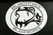 Burchtree Bladeworks Logo Stickers