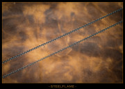 Steel Flame - Necklace - Rolo 2.2mm