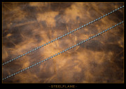 Steel Flame - Necklace - Seed Bead 3mm