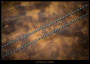 Steel Flame - Necklace - Seed Bead 5mm