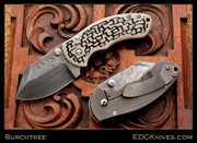 Burchtree Black and Tan - Damascus