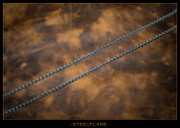 Steel Flame - Necklace - Talon 3mm
