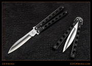 "29 Knives - 4"" Pira - Black G10 - Latchless"