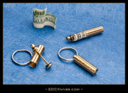 Mini Cash-Can™ Cash Stash - Brass