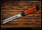 "29 Knives - 5"" Non-Standard Kampilan, Orange w/Black G10 - Latchless"