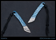 Korth All Titanium Kiridashi - Blue Leopard