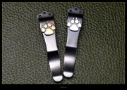 Steel Flame - Pocket Clip - Dog Paw