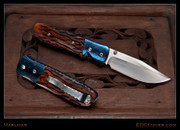Marlowe - SOF-A Lefty, Jigged Bone, Blued Damascus