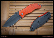 Burke - Mini-Resurrection, Orange G10 Scales