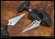 Sankaku - Push Dagger - Black G10