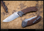 Olamic Cutlery,  Bravado, Orange/Black