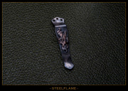 Steel Flame - Pocket Clip - Dragon, Copper