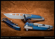 Brian Nadeu, Typhoon, Best New Maker Knife from Blade 2014