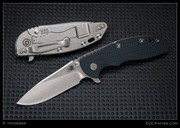 "Hinderer - XM-18 - 3"" Flipper, Slicer, Black/Blue Scale"