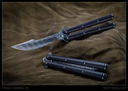 Camerer, Scimitar, Damascus, Latchless