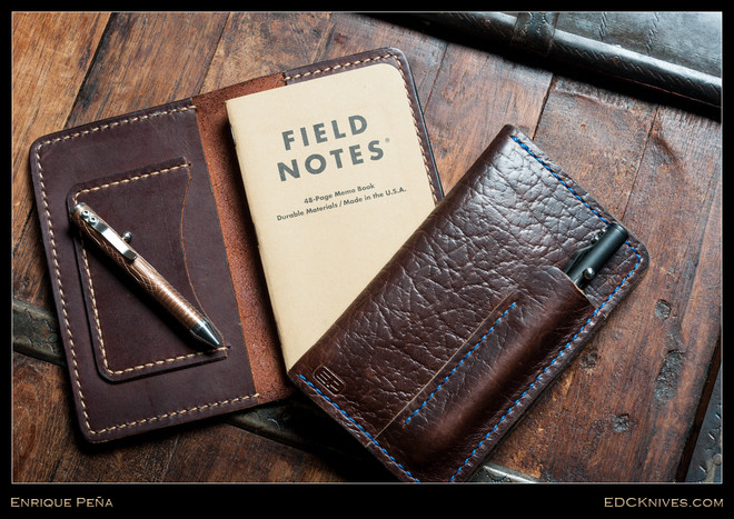 Enrique Pena Field Notes Cover  Edc Knives
