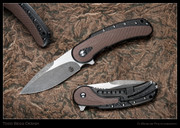 Begg - Bodega, Carbon Fiber with Brown Inlays, High Hollow