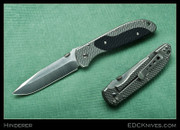 Hinderer - Firetac - Diamond Pattern/Black G10