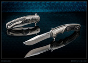 Dobruski - Caiman Flipper - Saber with Ti Bolsters-