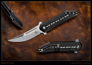 Begg - STEELCRAFT 3/4 KWAIKEN – BLACK - CARBON FIBER INLAY