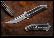 Begg - STEELCRAFT 3/4 KWAIKEN – SILVER - CARBON FIBER INLAY