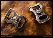 Steel Flame BRNLY Spinner - Skull 3D Slug