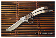 """Terry Guinn """"Ring Fighter"""" Balisong w/Ivory"""
