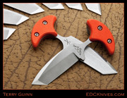 Terry Guinn - Push Tanto - Orange G10