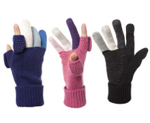 Multi color fingers Wool Knit, Womens