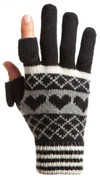 Hearts and Stripes Wool knit, Womens