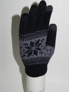 Two Finger, Snowflake Acrylic Knit, Mens