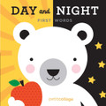 Petit Collage Day and Night - First Words Book
