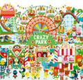 Observation Puzzle & Poster - Crazy Park 35pcs