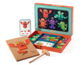 Djeco Tap Tap Monsters Activity Set