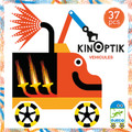 Djeco 'Kinoptik' Wacky Vehicles Construction Set