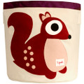 3 Sprouts Storage Bin - Squirrel