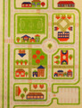 IVI Play Rug - Traffic Green
