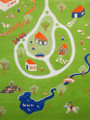 IVI Play Rug - Farm Green