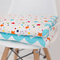 Buster Boo Cot Quilt / Playmat - Chevron Blue