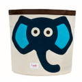3 Sprouts Storage Bin - Elephant Blue
