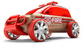 Automoblox X9 Fire Engine SUV