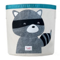 3 Sprouts Storage Bin - Raccoon