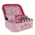 Tiger Tribe Vintage Tin Tea Set - Kittens & Puppies
