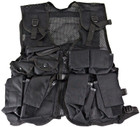 Kids Army Combat Vest - Black