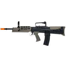 Airsoft Assault Rifle - Shown without Scope & Light