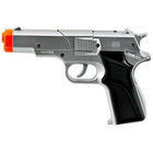 Silver Cap Gun