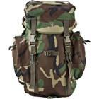 Kids Army Style Rucksack - Woodland Camo
