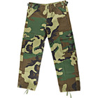 Kids BDU Pants - Woodland Camo