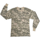 Boys Long Sleeve T-Shirt ACU Digital Camo
