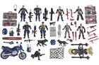 55 Piece Action Figure Set - Police